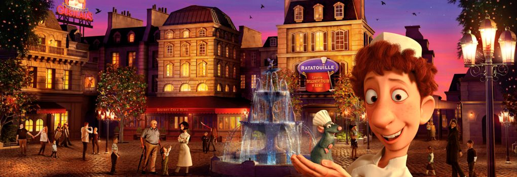 NEU: Ratatouille - Das Abenteuer in den Walt Disney Studios im Disneyland Paris