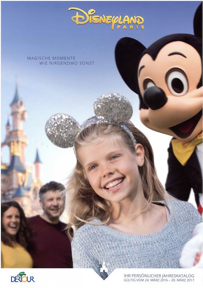 Disneyland Paris Katalog 2016