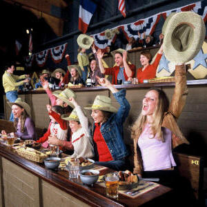Buffalo Bill's Wild West Dinner Show Publikum